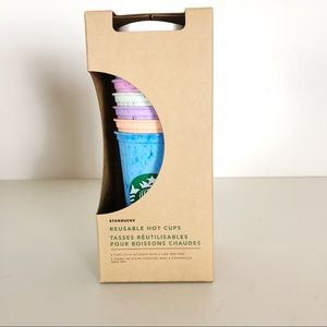 Starbucks Marble Reusable Hot Cups 6